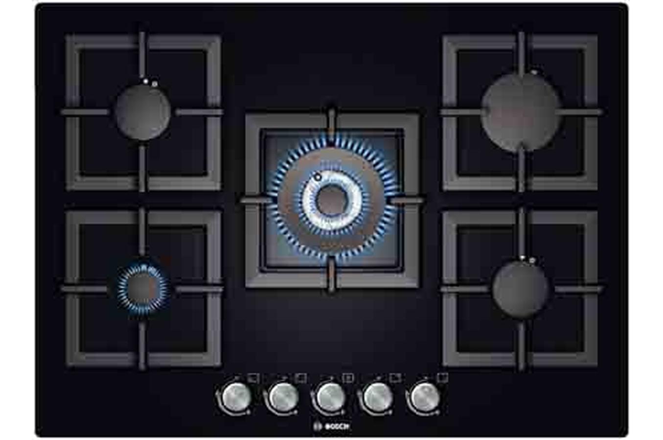 plaque gaz bosch ppq716b21e 3571530 darty. Black Bedroom Furniture Sets. Home Design Ideas