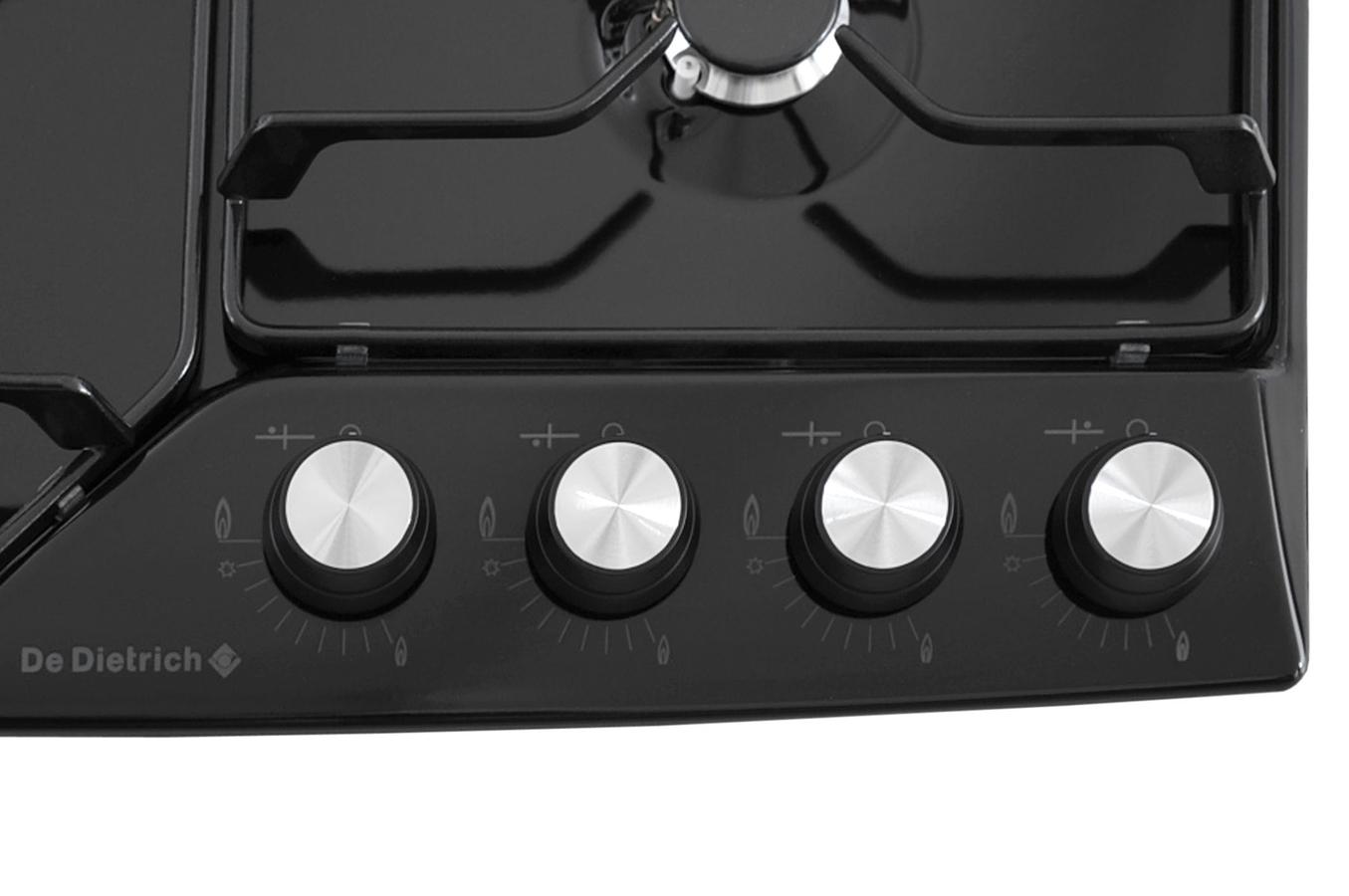 Plaque gaz de dietrich dte1110b noir dte1110b 3489183 - Table de cuisson gaz de dietrich ...