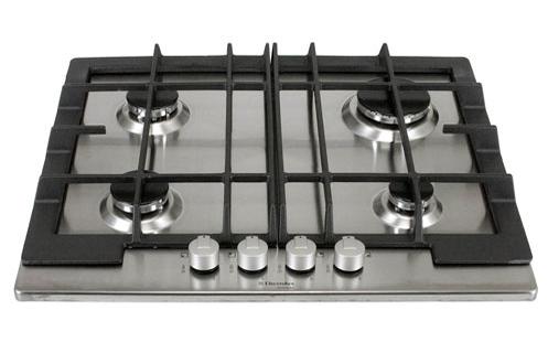 plaque gaz electrolux ahg 6430 x inox ahg6430x 2534398. Black Bedroom Furniture Sets. Home Design Ideas