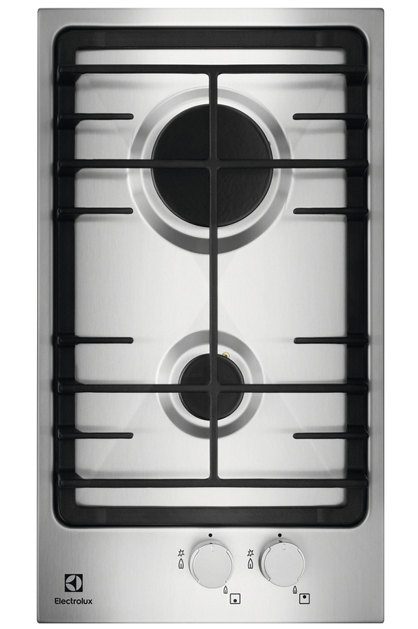 plaque gaz electrolux egg3322nvx inox (4246969) | darty