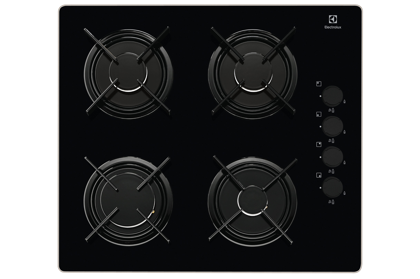 electrolux egt6042nvk table de cuisson electrom nager. Black Bedroom Furniture Sets. Home Design Ideas