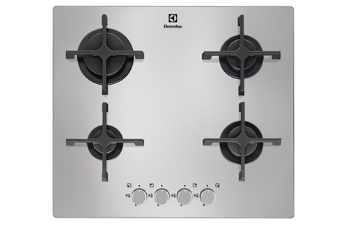 plaque gaz electrolux egt6342nox inox 4145488. Black Bedroom Furniture Sets. Home Design Ideas
