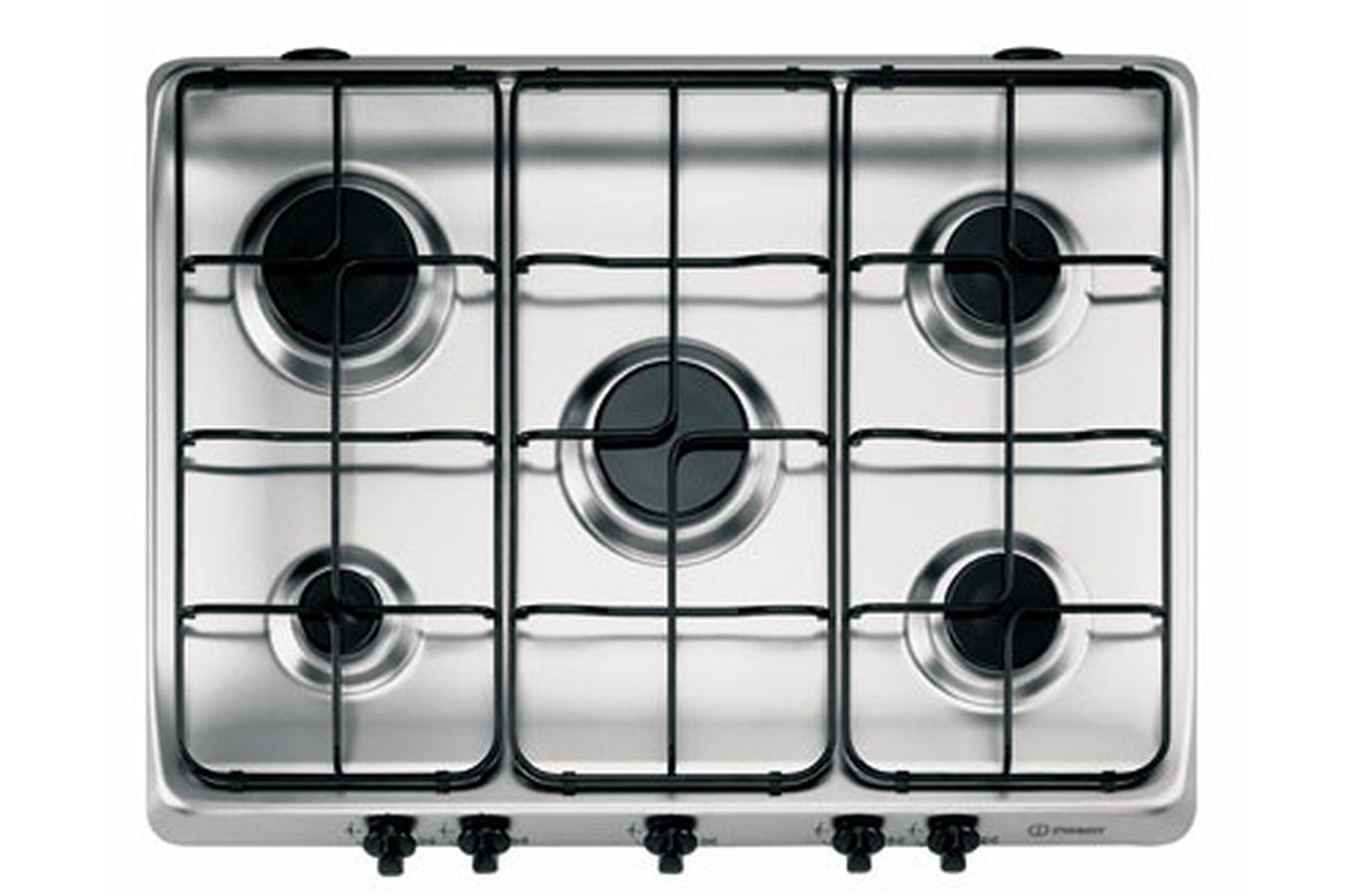 plaque gaz indesit pi 750 as inox 3165574 darty. Black Bedroom Furniture Sets. Home Design Ideas