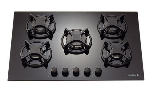 avis clients pour le produit plaque gaz rosieres rtv 750 fpn noir. Black Bedroom Furniture Sets. Home Design Ideas