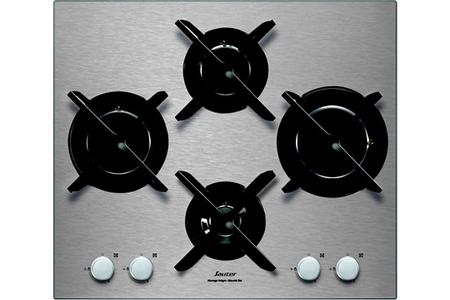 plaque gaz sauter spg4465x inox darty. Black Bedroom Furniture Sets. Home Design Ideas