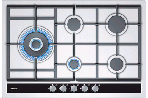 plaque gaz siemens ec845sb90e inox 3269175 darty. Black Bedroom Furniture Sets. Home Design Ideas