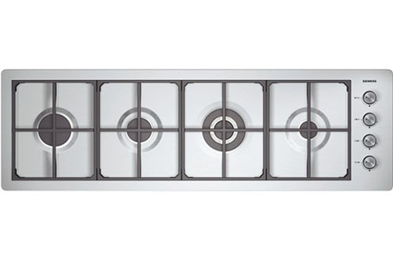 Plaque gaz siemens er 59553 inox er59553 2381516 darty - Table cuisson gaz siemens ...