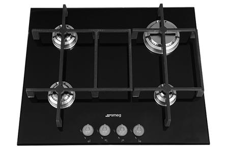 plaque gaz smeg pv640n darty. Black Bedroom Furniture Sets. Home Design Ideas