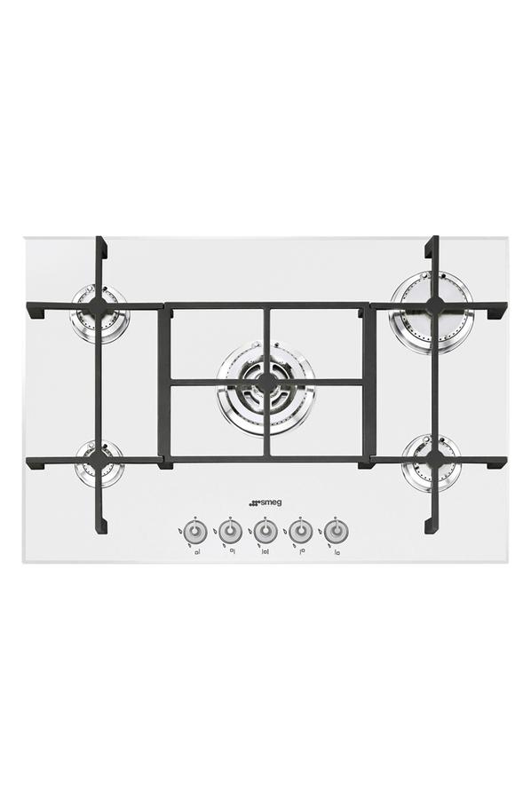 plaque gaz smeg pv750b 4021363 darty. Black Bedroom Furniture Sets. Home Design Ideas