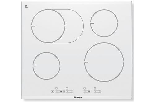 Plaque induction bosch pib672e14e 1584650 - Table vitroceramique blanche ...