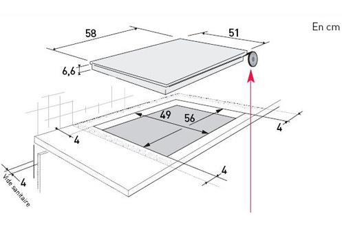 branchement plaque induction brandt images. Black Bedroom Furniture Sets. Home Design Ideas
