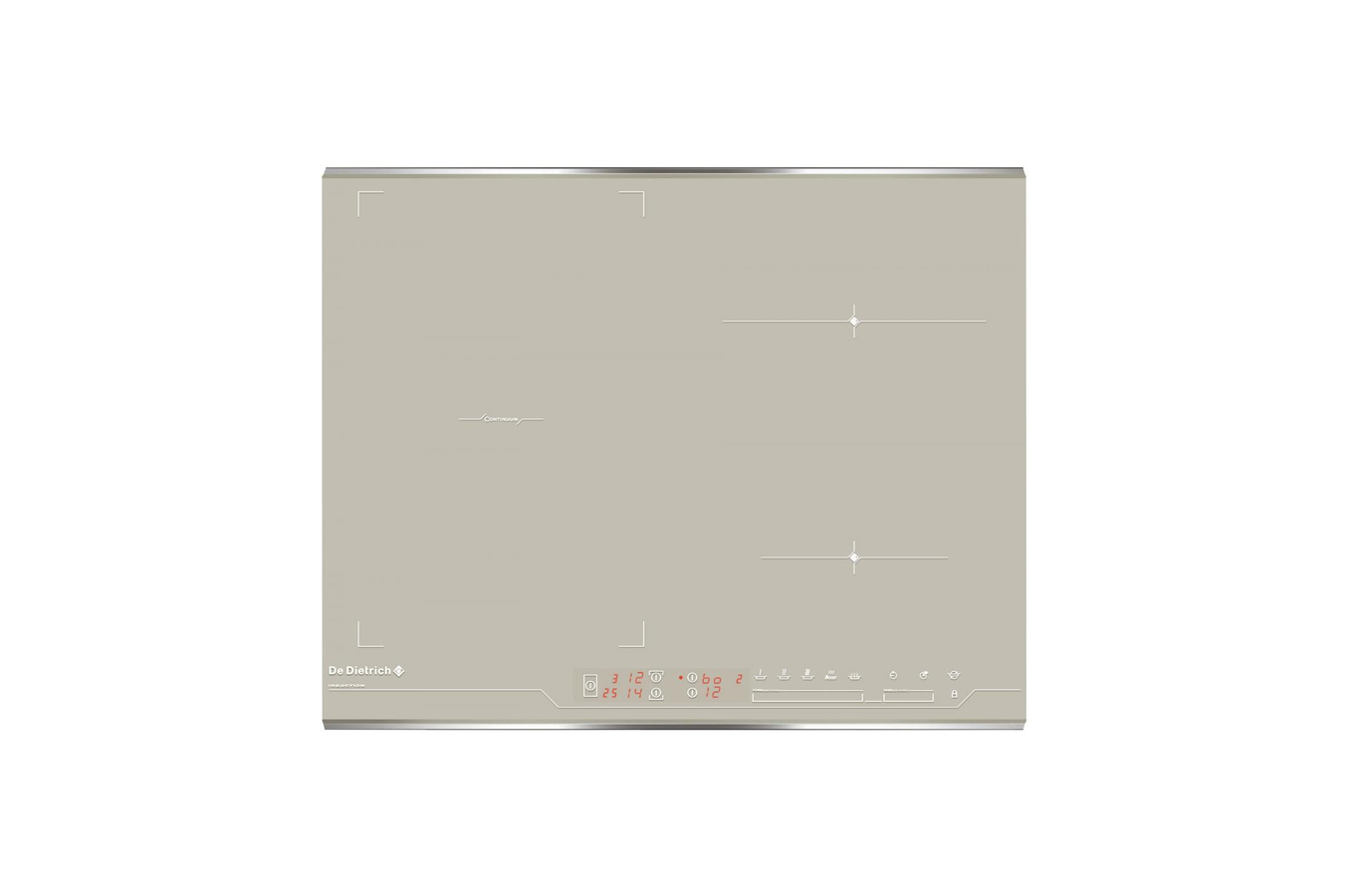 Plaque induction de dietrich dti1047gc dti 1047 gc - Table a induction blanche ...