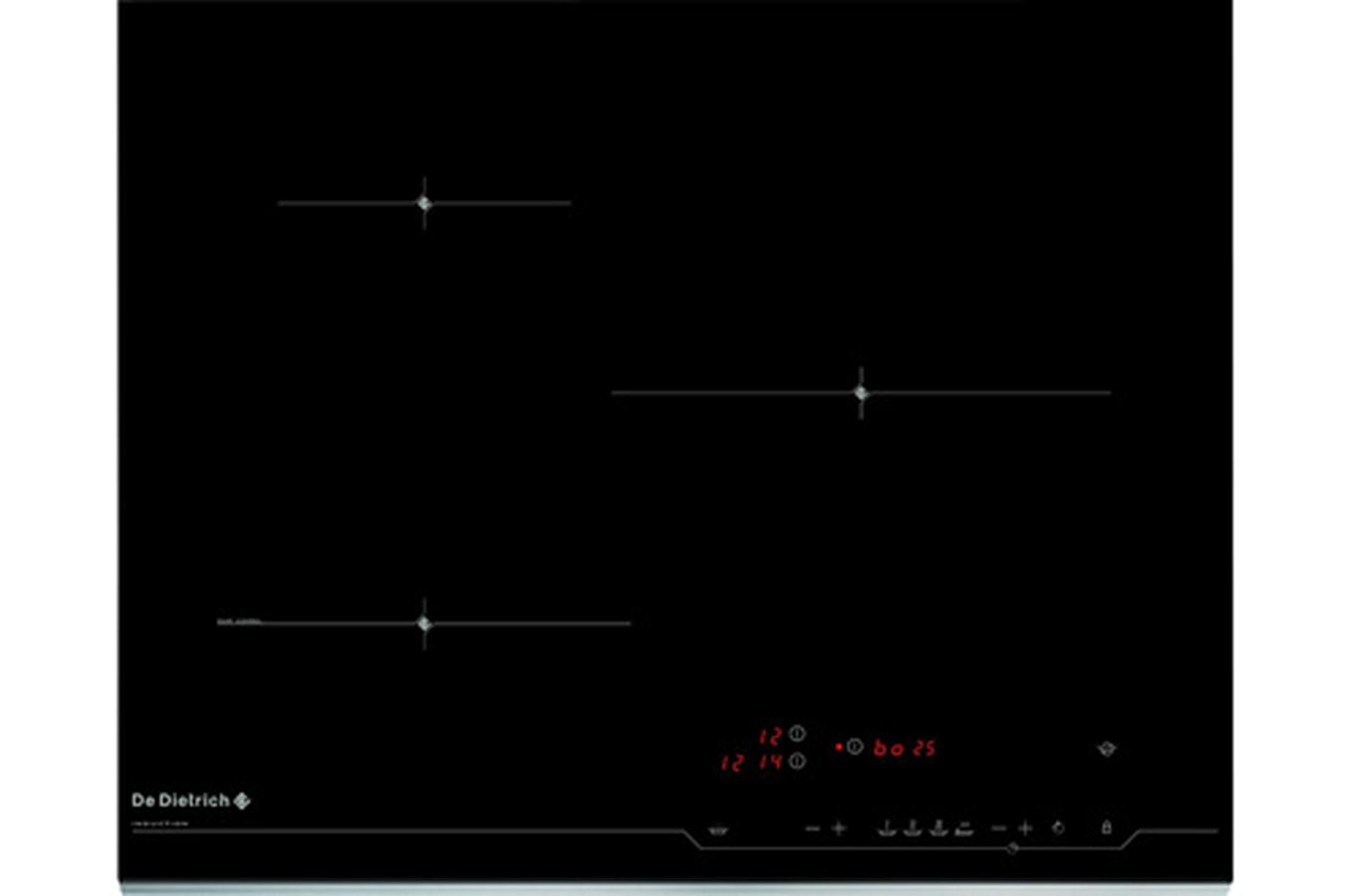 Plaque induction de dietrich dti 1106xe 3555704 darty - Table de cuisson vitroceramique de dietrich ...
