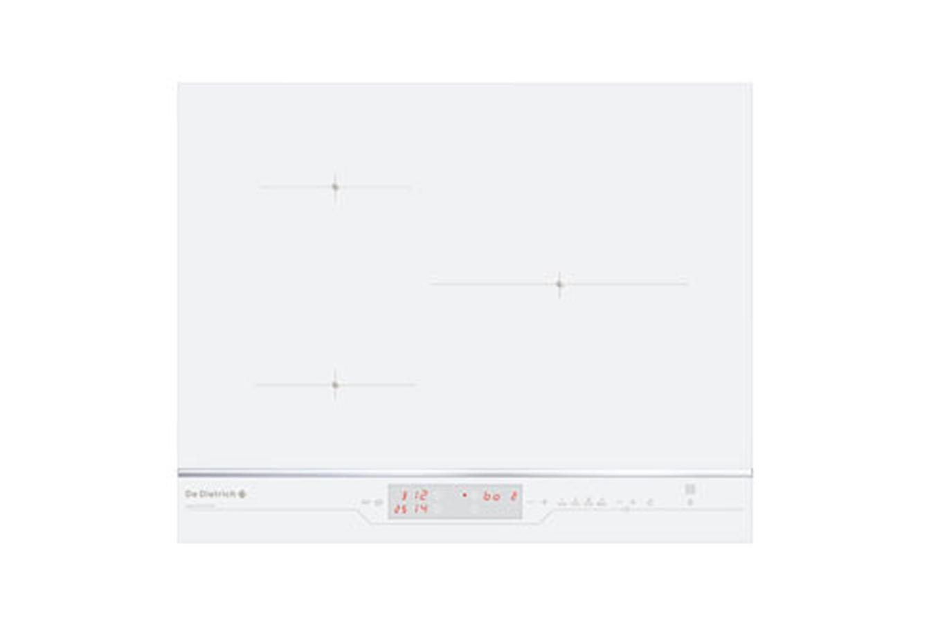 Plaque induction de dietrich dti 1116 w 3566412 darty - Table de cuisson induction blanche ...