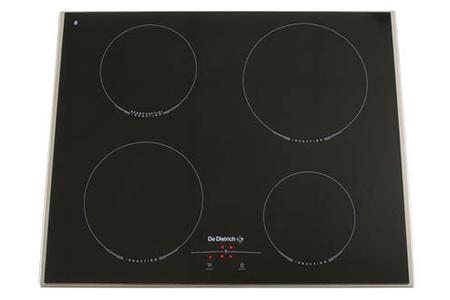 plaque induction de dietrich dti 310 xe1 inox darty. Black Bedroom Furniture Sets. Home Design Ideas