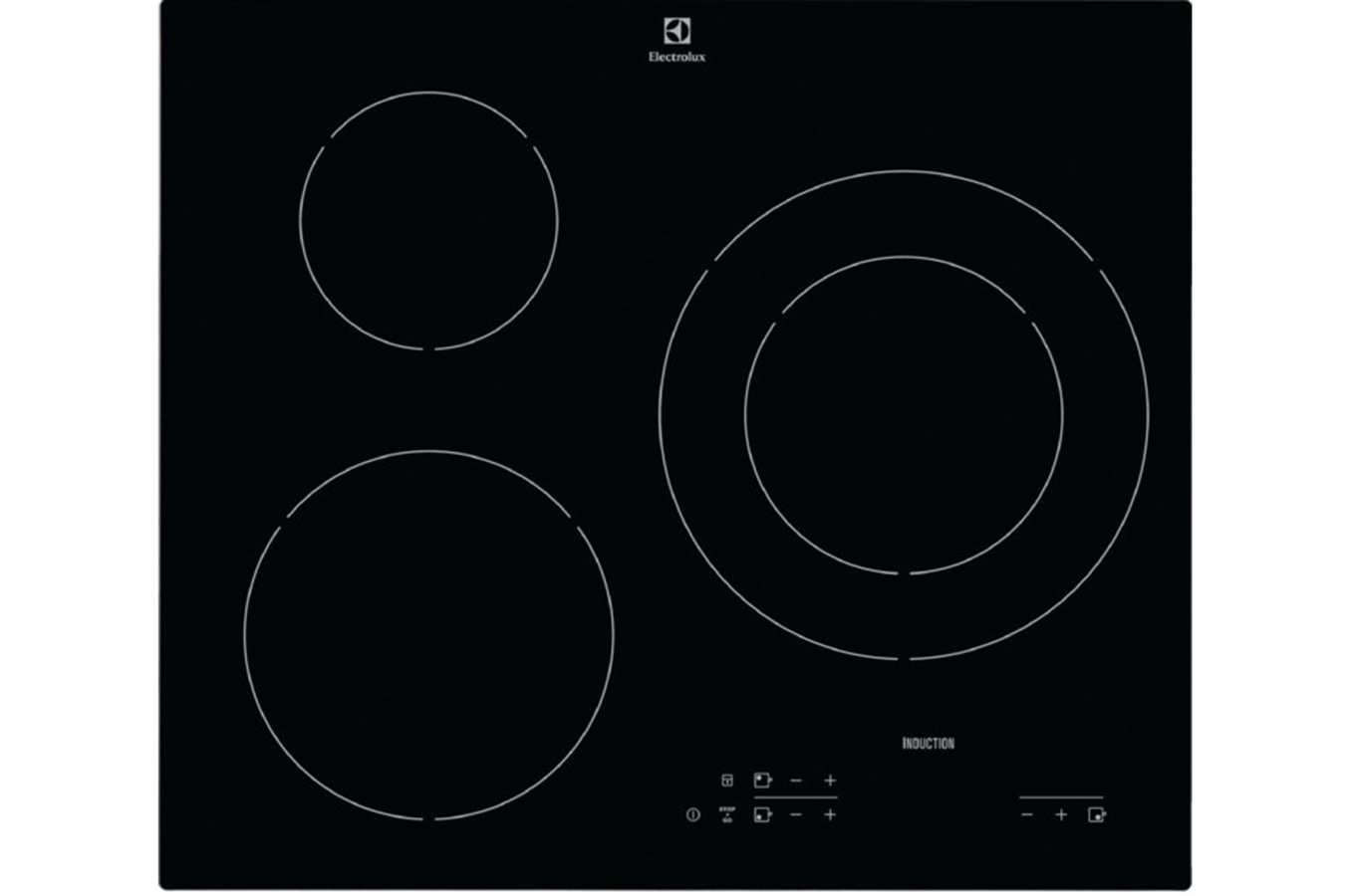Plaque induction electrolux e6119i9k 4171543 darty - Electrolux ehl7640fok table induction ...