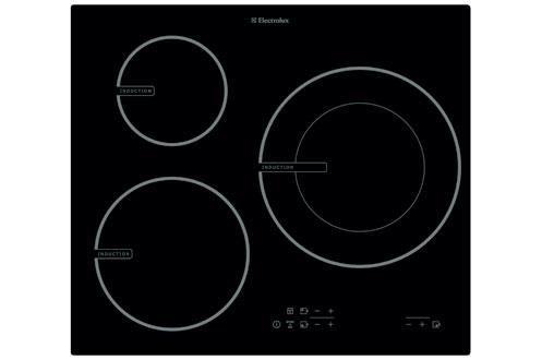 plaque induction electrolux ehd60005i noir ehd60005i. Black Bedroom Furniture Sets. Home Design Ideas