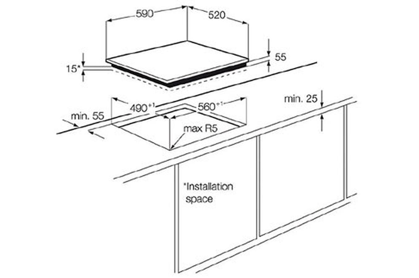 Plaque induction electrolux ehd60127is 3519600 darty - Plaque vitroceramique quelle casserole ...