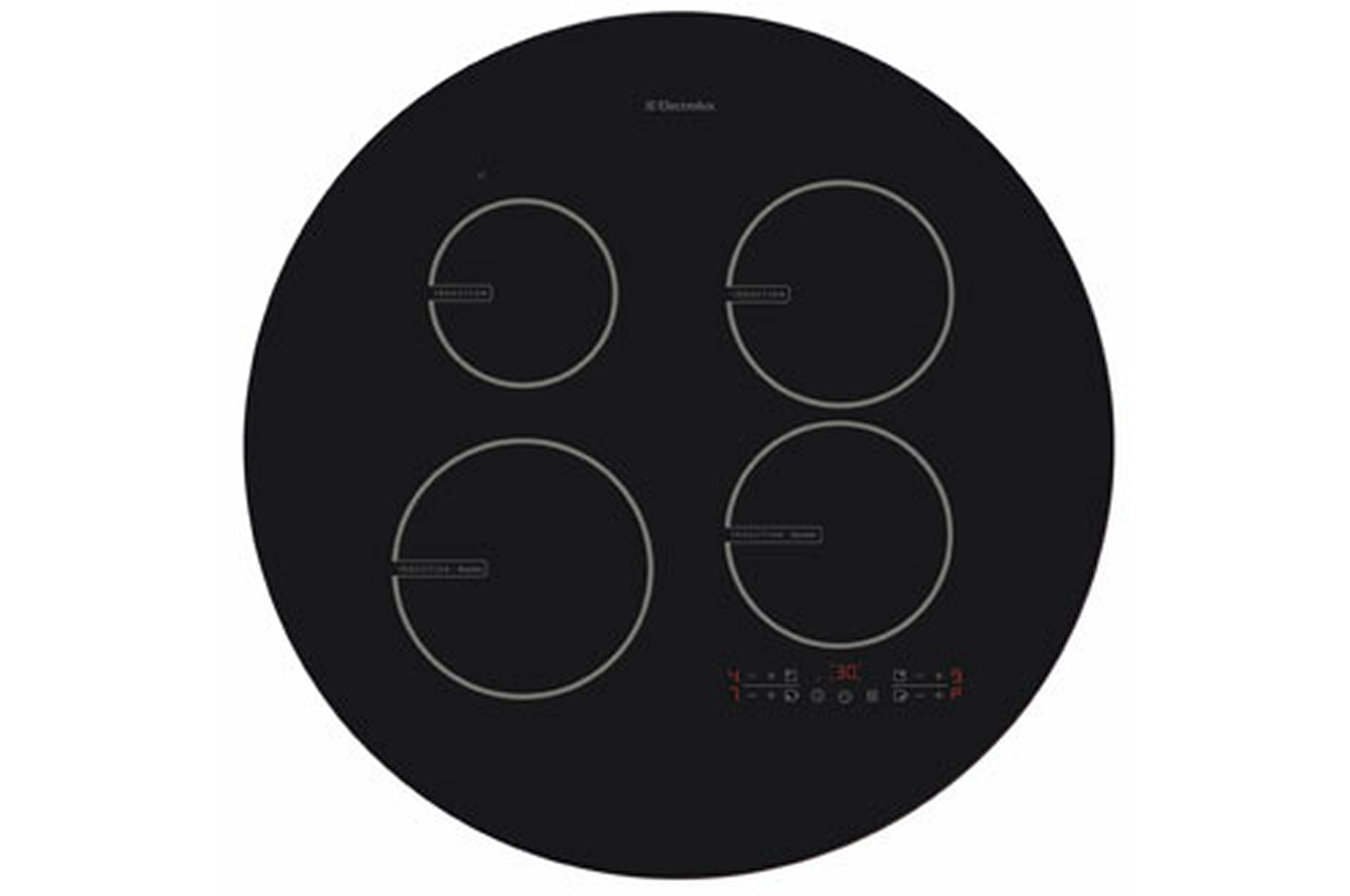 Plaque induction electrolux ehd76020i noir ehd76020i - Table de cuisson induction electrolux ...