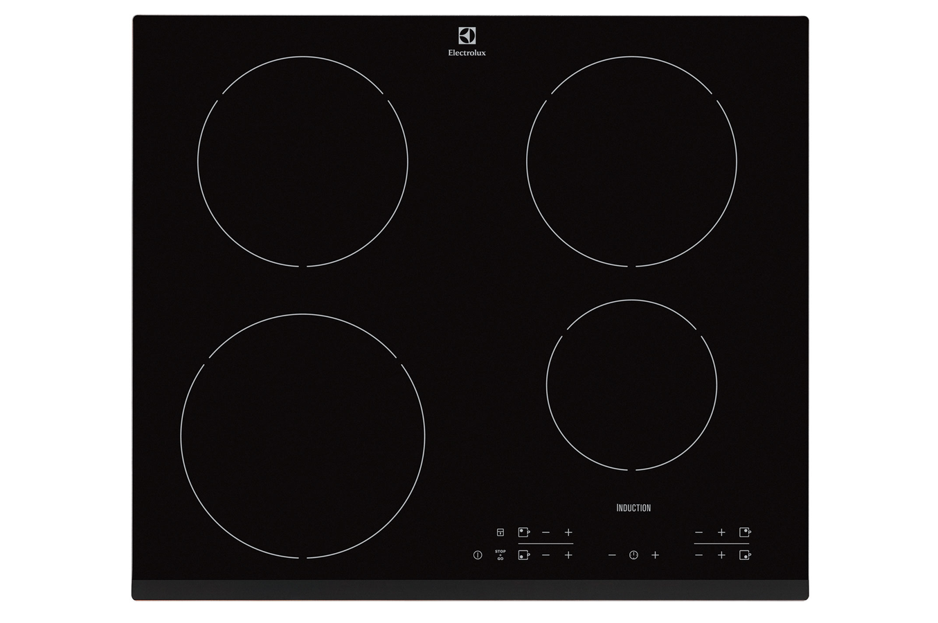 Plaque induction electrolux ehh6340fok noir ehh6340fok 3601412 darty - Comment enlever les taches sur plaque induction ...