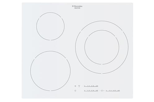 Plaque induction electrolux ehm6532iow blanc ehm6532iow 3601102 - Plaque induction blanche electrolux ...