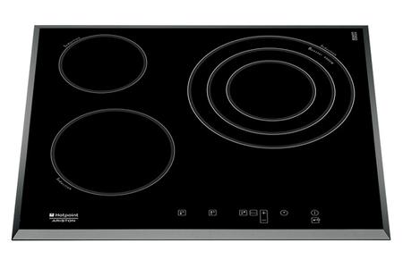 plaque induction hotpoint obs kic 631 t b noir kic 631 t b darty. Black Bedroom Furniture Sets. Home Design Ideas
