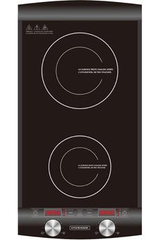 Plaque induction Kitchen Cook INDUC2 BLACK