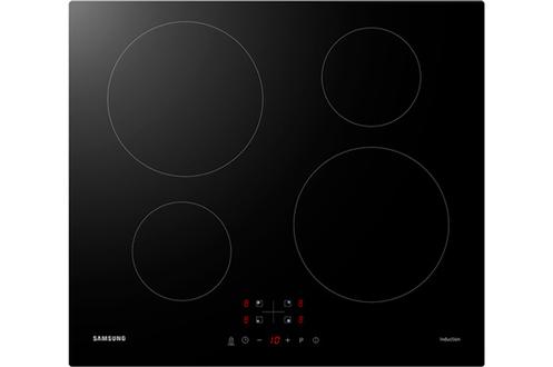 4 foyers induction Puissance du foyer principal : 2300 W (maxi) et 2600 W (booster) 9 positions de cuisson - 4 boosters - 4 minuteurs Commandes sensitives - Sécurité enfants