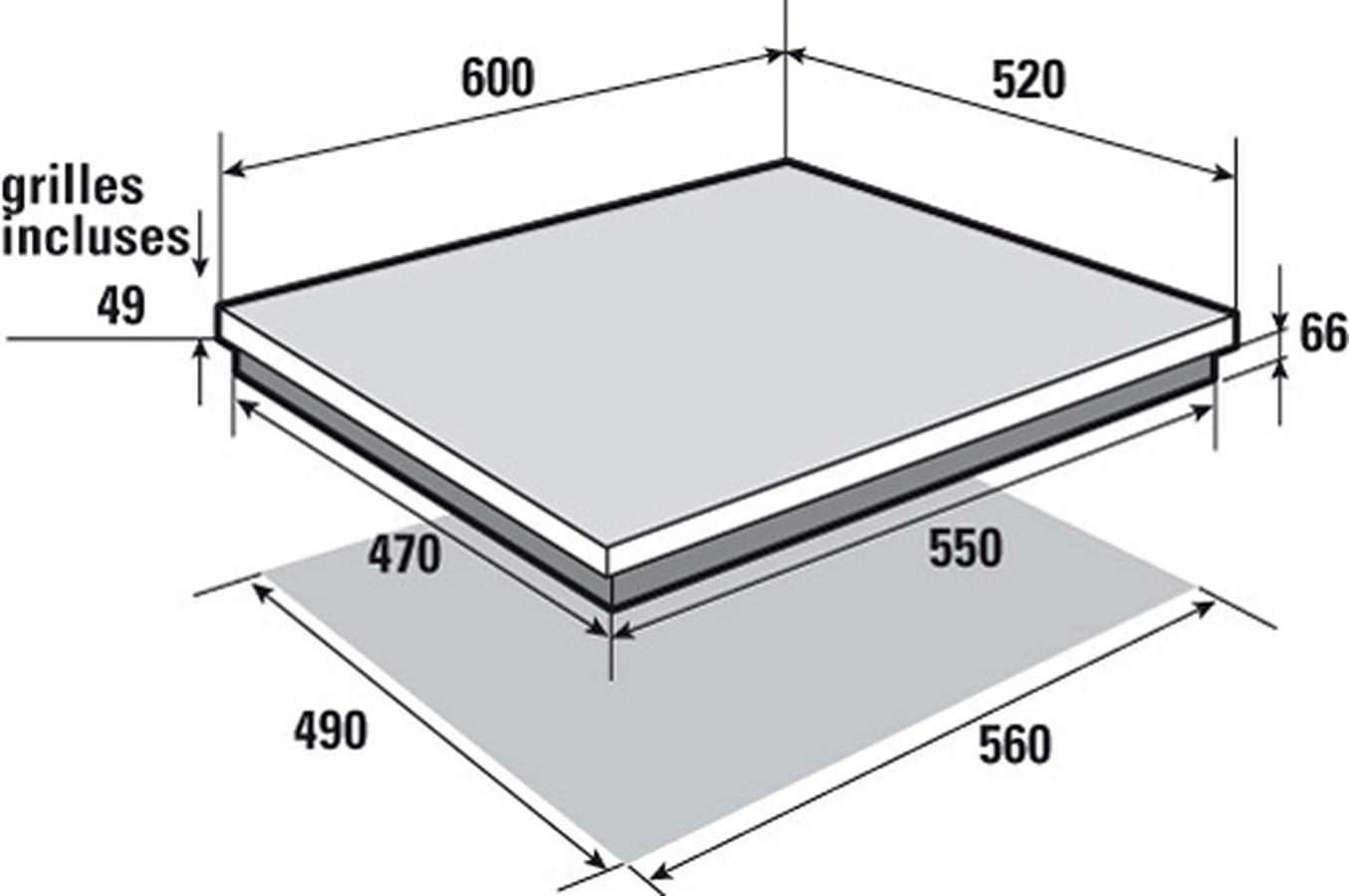 plaque induction sauter spi4365b 4129733 darty. Black Bedroom Furniture Sets. Home Design Ideas