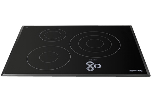 Plaque induction smeg sb73 noir sb73 3722791 - Hauteur hotte plaque induction ...