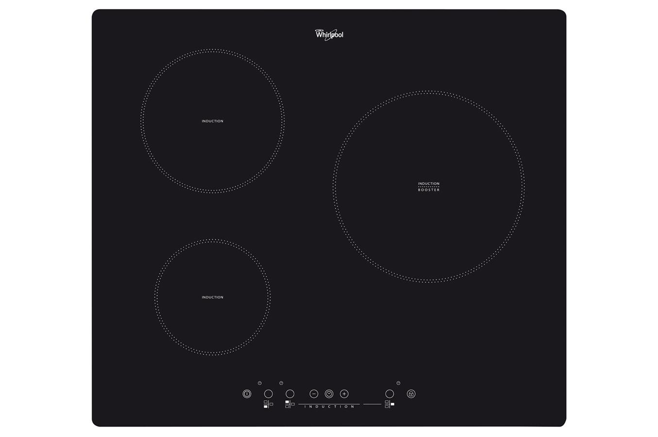 Plaque induction whirlpool acm904ne noir acm904ne 3758729 darty - Plaques induction darty ...