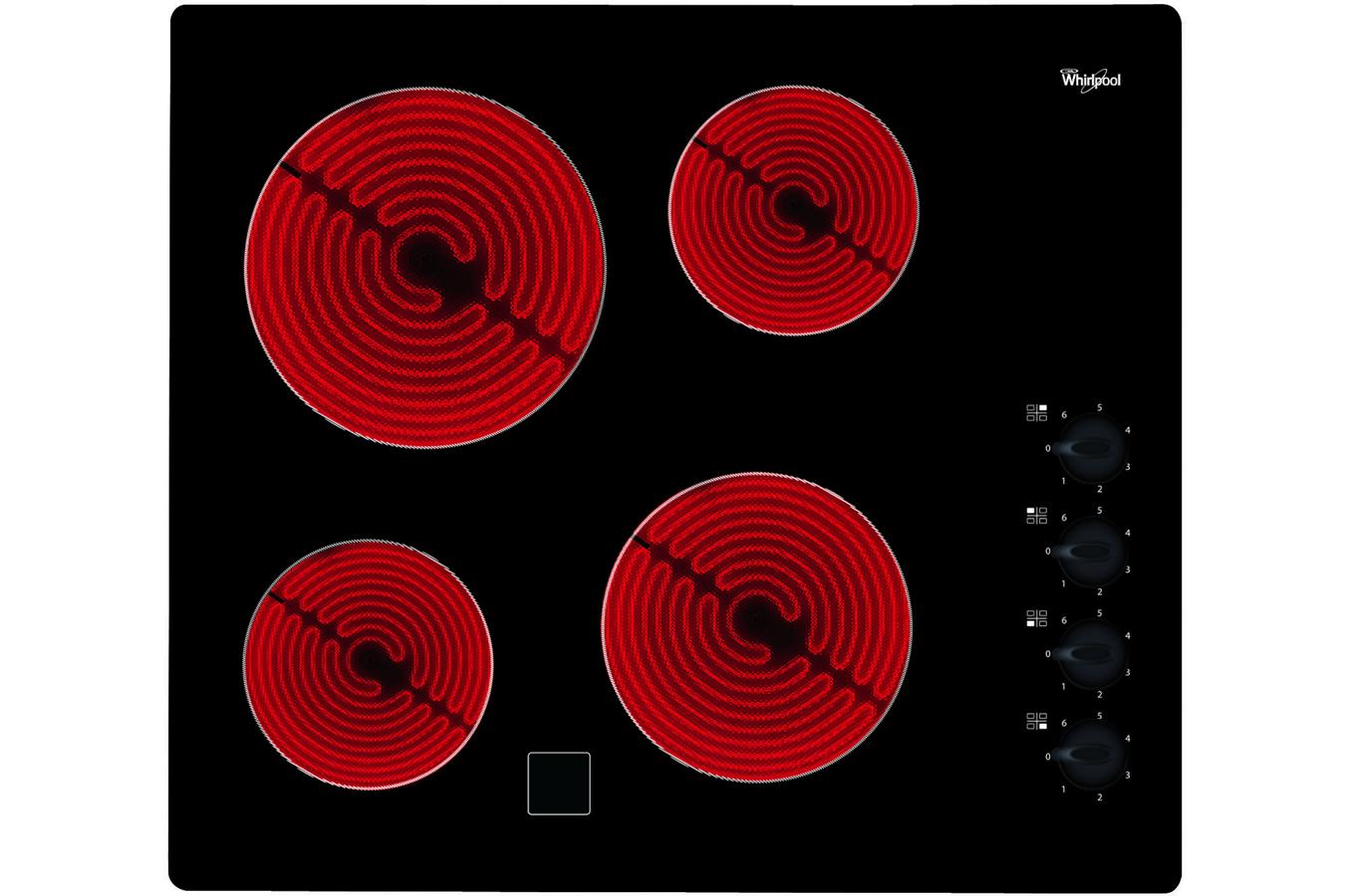 plaque vitroc ramique whirlpool akm700ne 4028341 darty