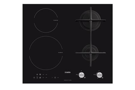 plaque mixte aeg hd634170nb darty. Black Bedroom Furniture Sets. Home Design Ideas