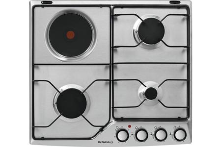 plaque mixte de dietrich dpe7610xm darty. Black Bedroom Furniture Sets. Home Design Ideas