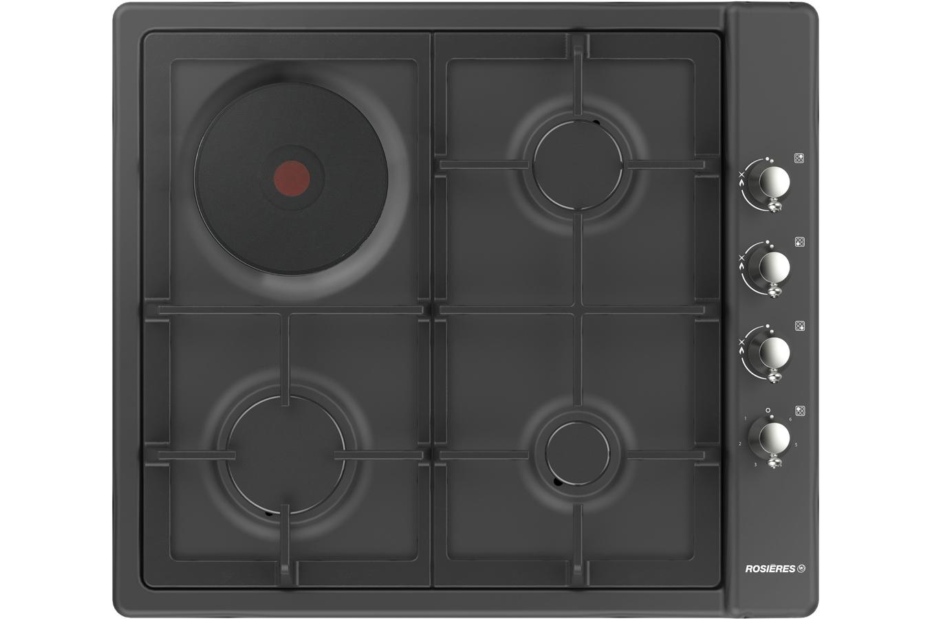 plaque mixte rosieres rtt631fcav 4275942 darty. Black Bedroom Furniture Sets. Home Design Ideas