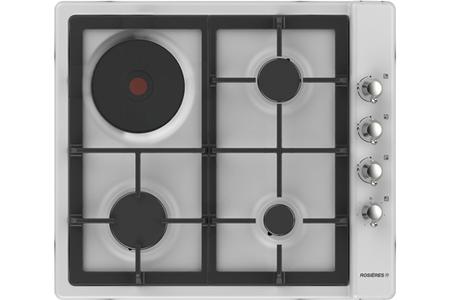 plaque mixte rosieres rtt631fcbav rtt631fcbav blanc. Black Bedroom Furniture Sets. Home Design Ideas