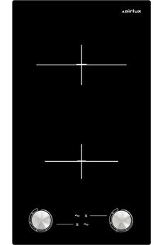 2 foyers High - Light Commandes par manettes frontales Puissance du foyer principal :1 800 W 6 niveaux de puissance par foyer - Grattoir de nettoyage