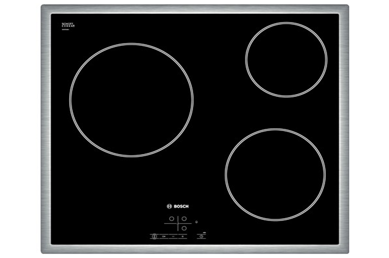 Plaque vitroc ramique bosch pkm645b17e 4076486 darty - Table de cuisson vitroceramique bosch ...