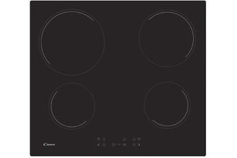 4 foyers radiants - 60 cm de largeur Puissance du foyer principal 2300 W 10 positions de cuisson - 3 minuteurs Commandes sensitives - Sécurité enfants