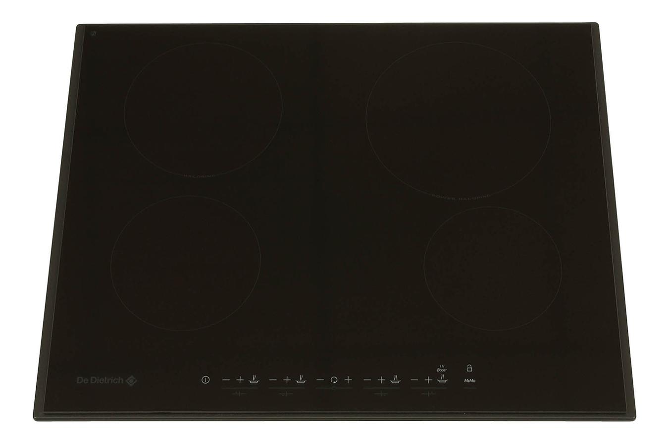 Plaque vitroc ramique de dietrich dtv 725 b noir dtv725 2496950 darty - Table de cuisson vitroceramique de dietrich ...