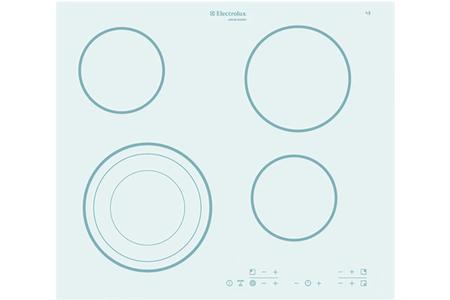 plaque vitroc ramique electrolux ahs 60130 w blanc ahs60130blanc darty. Black Bedroom Furniture Sets. Home Design Ideas