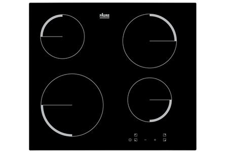 plaque vitroc ramique faure f6104ivk darty. Black Bedroom Furniture Sets. Home Design Ideas