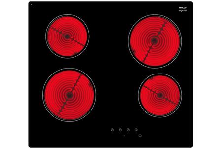 plaque vitroc ramique proline vh 6000 noir vh 6000 darty. Black Bedroom Furniture Sets. Home Design Ideas