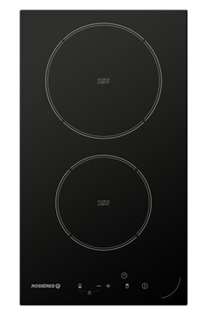 plaque vitroc ramique rosieres rdh32 noir rdh32 darty. Black Bedroom Furniture Sets. Home Design Ideas
