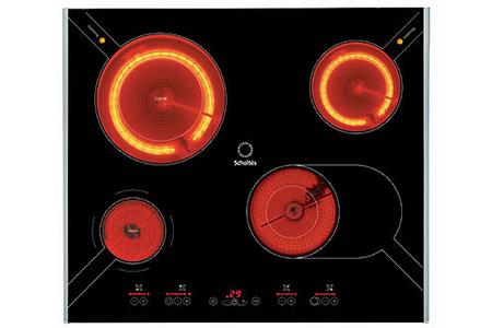 site réputé 03bd2 54f56 Plaque vitrocéramique Scholtes TT 6244 NR NOIR - TT6244 | Darty