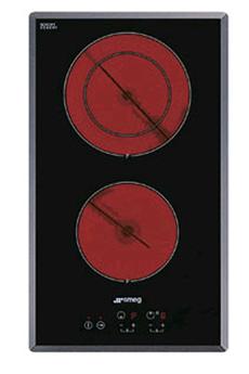 Plaque vitrocéramique SE 2321 TE2 NOIR Smeg
