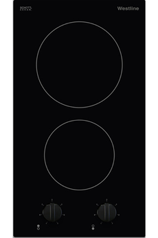 2 foyers radiants Commandes par manettes frontales Puissance du foyer principal :1800 W