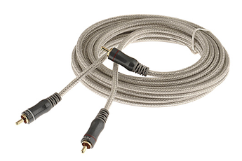 Cable audio 2RCA M/M 3M Hitachi