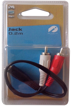 Cable audio RCA M/J3,5 Plug It