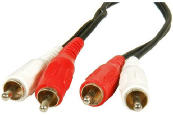 Cable audio A124H RCA 10M Temium